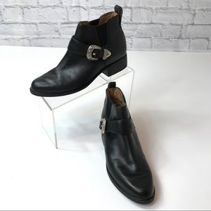 Ariat Blaire Black Leather Bootie